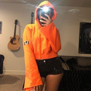 New LF orange hoodie